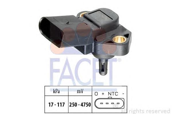103071 Датчик давления воздуха SEAT: AROSA (6H) 1.0/1.4 97-04, CORDOBA 1.0 99-02, CORDOBA Наклонная задняя часть (6K2) 1.0 99-02