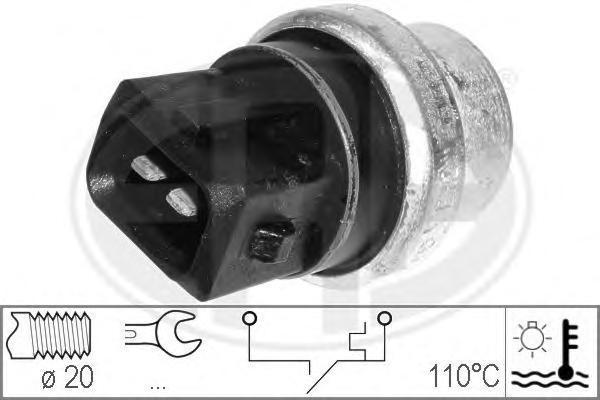 330163 Датчик температуры охлаждающей жидкости AUDI: A6 (4B, C5) 2.4/2.4 quattro/2.7 T/2.7 T quattro/3.0/3.0 quattro 97-05, A6 A