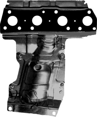714121300 Прокладка коллектора CITROEN: BERLINGO 1.6 VTi 120 08-, BERLINGO фургон 1.6 VTi 120 08-, C3 II 1.6 VTi 120 09-, C3 Pic