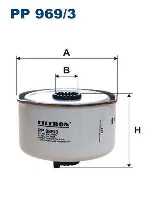 PP9693 Фильтр топливный LAND ROVER DISCOVERY/RANGE ROVER 2.7D-3.6D 04-