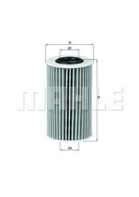 OX554D2 Фильтр масляный TOYOTA LAND CRUISER 200 4.5D 08-