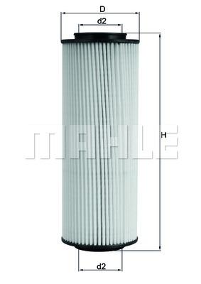 OX775D Фильтр масляный HYUNDAI IX 55 07- 3.0 DIESEL