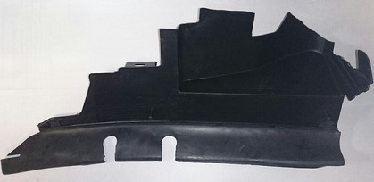 1252552 Дефлектор радиатора левый / FORD C-Max,Focus-II 03~