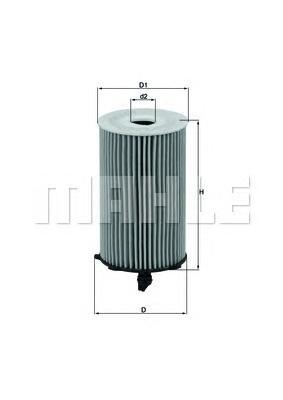 OX417D Фильтр масляный HYUNDAI SANTA FE/KIA SORENTO 3.5