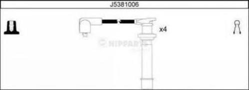 J5381006 Провода в/в NISSAN ALMERA 2.0 96- компл.