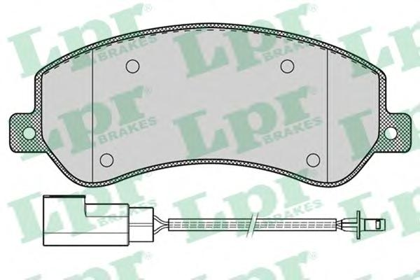 05P1260 Колодки тормозные FORD TRANSIT 330/350 06-/VW AMAROK 10- передние с датчиком