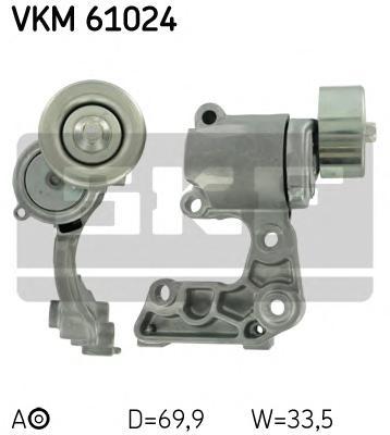 VKM61024 Натяжитель ремня приводного LEXUS/TOYOTA 2.5-4.0 04-
