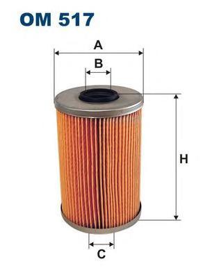 OM517 Фильтр масляный BMW E28/E34/E23/E32 M30