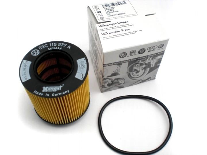 03C115562 Фильтр масляный (для Tig.1 4  привод)