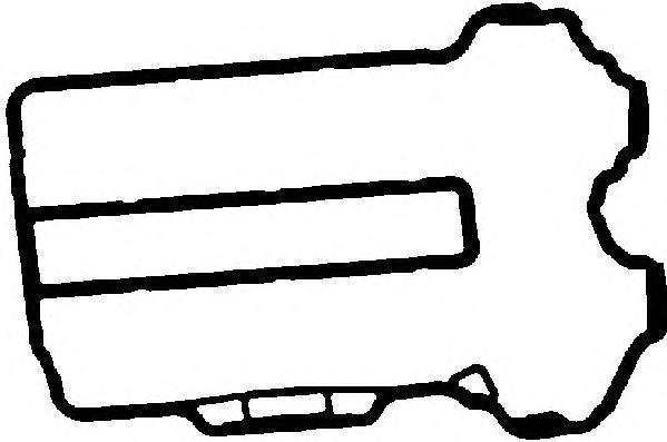 11064100 Прокладка клапанной крышки OPEL CORSA 1.0 X10XE