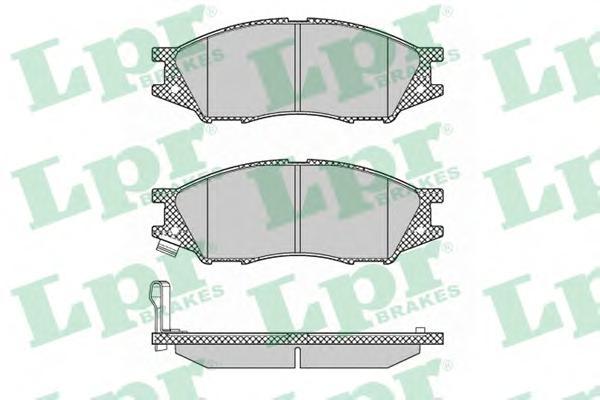 05P1346 Колодки тормозные NISSAN ALMERA CLASSIC 06- передние