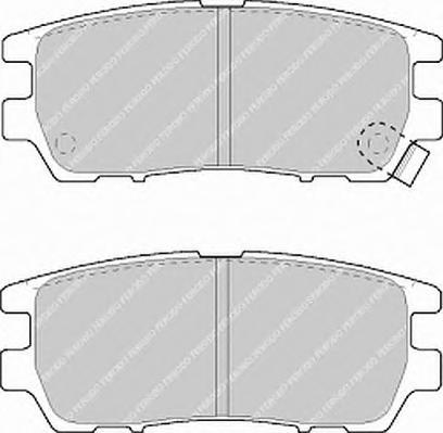 FDB804 Колодки тормозные MITSUBISHI PAJERO I/PAJERO II 3.0/3.5/2.5TD/L400 9403 задние