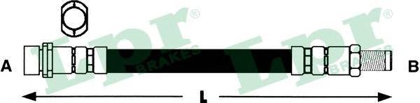 6T48198 Шланг тормозной MAZDA 3 03- задний