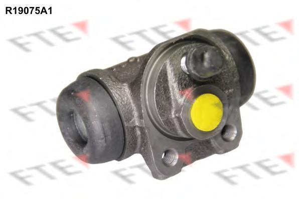R19075A1 Цилиндр тормозной рабочий PEUGEOT: 106 I (1A, 1C) 1.0/1.1/1.3/1.4/1.4 D/1.5 D/1.6 91 - 96 , 206 Наклонная задняя часть