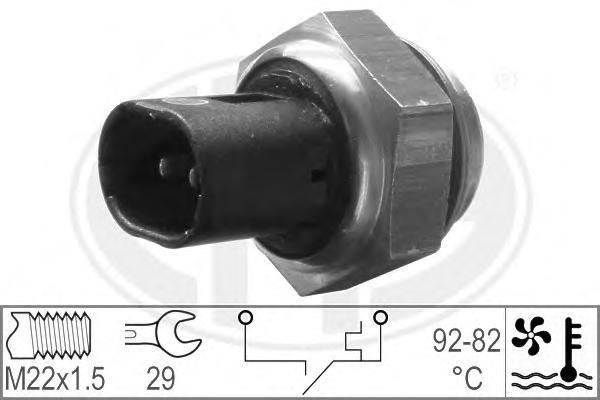 330181 Датчик включения вентилятора OPEL/RENAULT/CITROEN