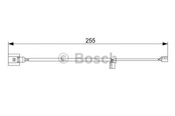 1987473013 Датчик износа торм.колодок AUDI Q7/TOUAREG зад.