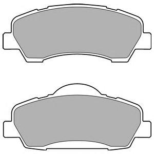 LP2485 Колодки тормозные C4 14-/C-ELYSEE 12-/PEUGEOT 301 12-/308 13- передние