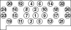 HBS060 Комплект болтов ГБЦ MB W124, W140 3.0TD/3.5TD OM603 86