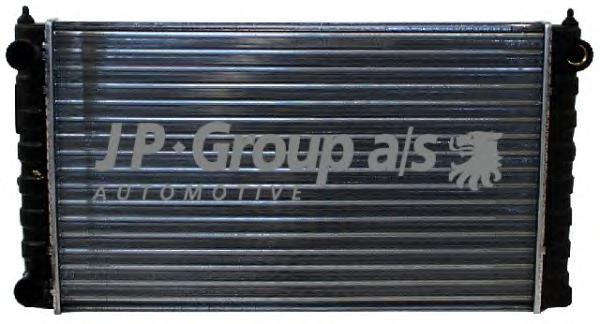 1114201900 Радиатор охлаждения двигателя (520x320) / VW Passat-III 1.6/1.8 88~