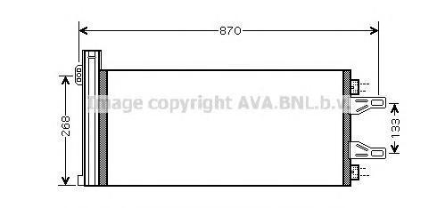 CNA5248 Конденсер CITROEN JUMPER/FIAT DUCATO 06-