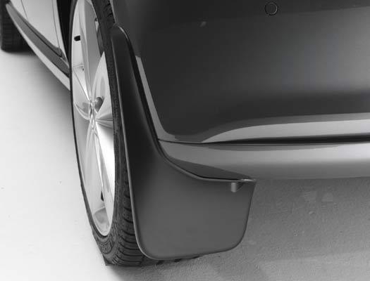6RU075101 Брызговики задние (Polo седан 10>>)