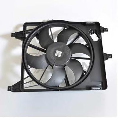 30445 Вентилятор радиатора RENAULT LOGAN -08 с кондиционером