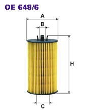 OE6486 Фильтр масляный OPEL/CHEVROLET 1.0/1.2/1.4/1.6/1.8 04-