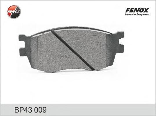 BP43009 Колодки тормозные HYUNDAI ACCENT/i20/KIA RIO 05- передние