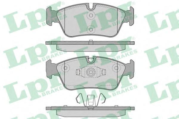 05P1250 Колодки тормозные BMW E81/E87/E90 1.6-2.0 04- передние