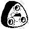 255031 Подвеска глушителя TOYOTA RAV4 2.0 94-00