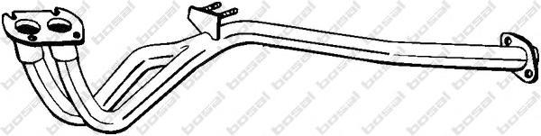 802637 Труба приемная VECTRA B 1.8/2.0 95-00