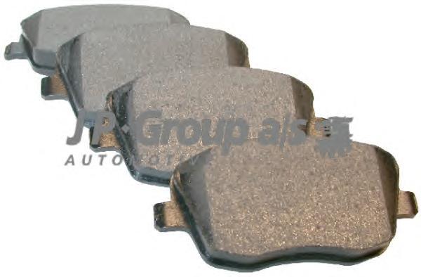 1163603010 Колодки тормозные дисковые передние / SEAT Cordoba,Ibiza-IV;SKODA Fabia,Roomster;VW Polo 12/99~