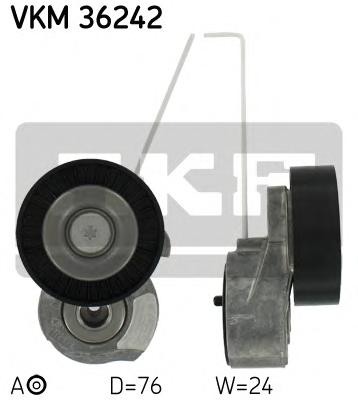 VKM36242 Натяжитель ремня приводного VOLVO S60/S80/XC90/XC60/XC70 3.0/3.2 06-