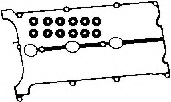 56017300 Прокладка крышки клапанной