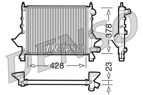 drm23081 Радиатор, охлаждение двигателя