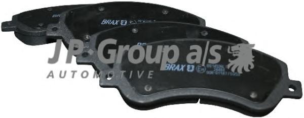 1563600210 Колодки тормозные дисковые передние / FORD Transit 2.2/2.4TDCI/2.3-16V(c датчиком) 07/06~