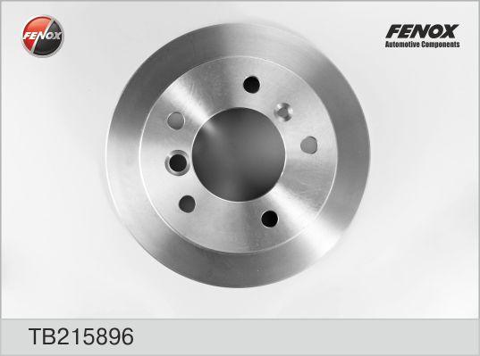 TB215896 Диск тормозной MERCEDES SPRINTER (2t) 95-06/VW LT 28-35/46 96-06 задний D=258мм