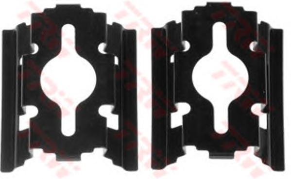 PFK502 Пружины прижимные дисковых колодок к-т.CITROEN/FIAT/PEUGEOT перед.