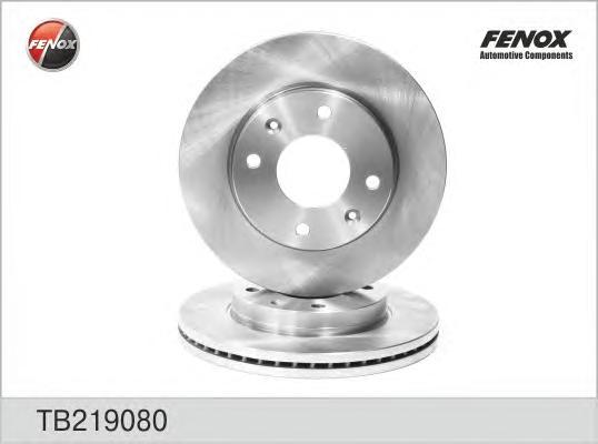 TB219080 Диск тормозной HYUNDAI ELANTRA 00-/LANTRA/MATRIX 01-/KIA CERATO 1.6 06- передний