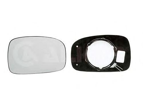 6401280 Стекло зеркала левого, плоское