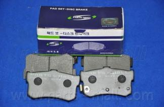 PKA010 Колодки тормозные HYUNDAI SONATA III 93-98 задние