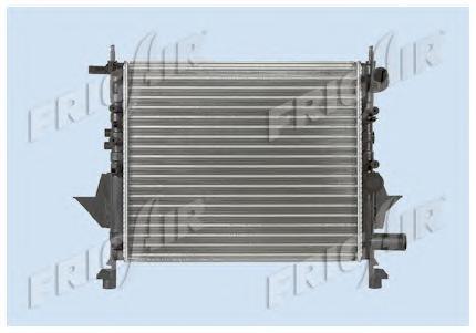 01093076 Радиатор, охлаждение двигателя