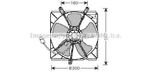 to7540 Вентилятор, охлаждение двигателя