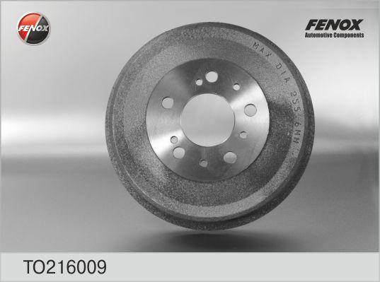 TO216009 Барабан тормозной PEUGEOT BOXER/FIAT DUCATO/CITROEN JUMPER 1t-1,5t
