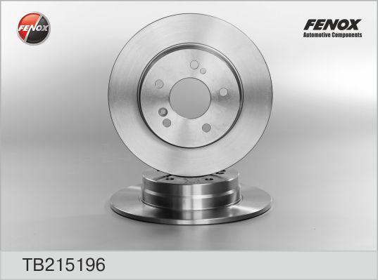 TB215196 Диск тормозной MERCEDES W202/W203/W124/W210/R170/R171 задний D=278мм