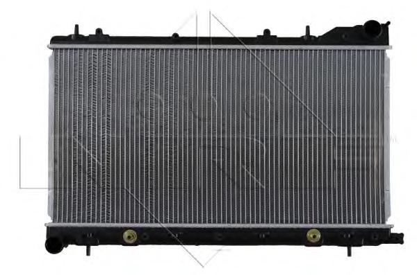 53711 Радиатор SUB Forester 2.0 AUT 02-07