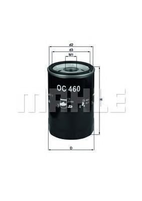 OC460 Фильтр масляный JAGUAR X-TYPE 2.0-3.0