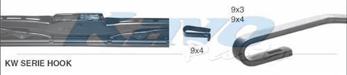 KW026 Щётка с/о 650мм CONVENTIONAL BLADE Hook