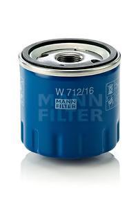 W71216 Фильтр масляный ALFA ROMEO 145/155/166