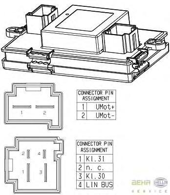5HL351321541 Блок управления отопителем BMW F01/F07/F10